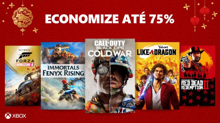 Promoção do Xbox tem GTA, Call of Duty e Control (Imagem: Divulgalão/Xbox)