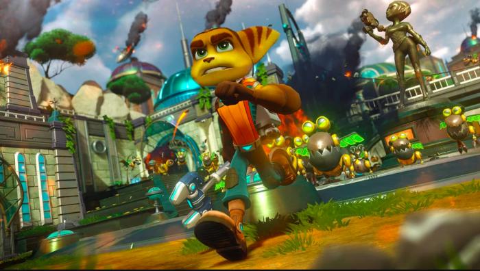Jogos de PS4 e PS5 ficarão de graça, começando com Ratchet & Clank (Imagem: Divulgação/Sony)