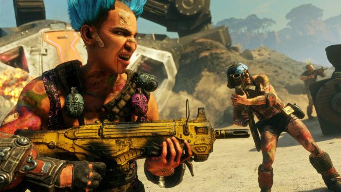 Rage 2 é um dos jogos de graça na Epic Games Store (Imagem: Divulgação/Bethesda)