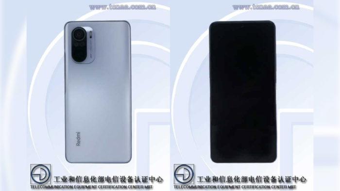 Possível Xiaomi Redmi K40 (Imagem: Reprodução/TENAA)