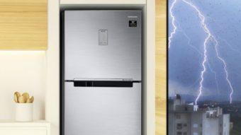 Samsung lança geladeiras com PowerVolt que sobrevivem a picos de energia