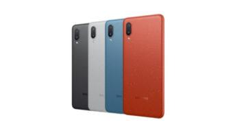 Samsung anuncia Galaxy M02 com bateria de 5.000 mAh