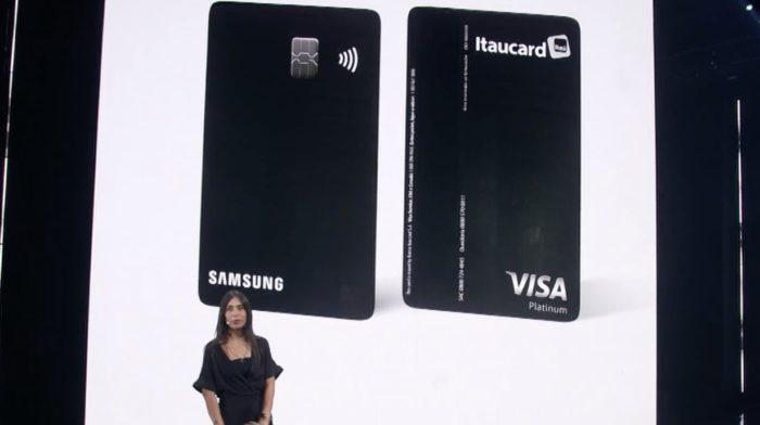 Samsung lança cartão em parceria com Itaú e Visa (Imagem: Reprodução)