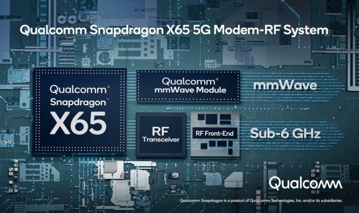 Snapdragon X65 (imagem: divulgação/Qualcomm)