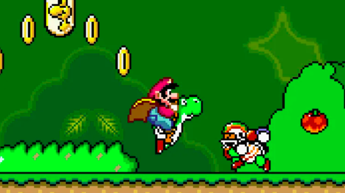 Samples de Super Mario World são publicadas na web (Imagem: Divulgação/Nintendo)