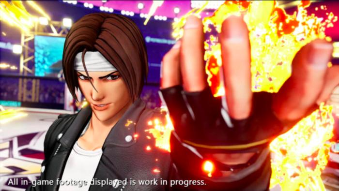 The King of Fighters 15 tem Kyo Kusanagi no elenco (Imagem: Divulgação/SNK)