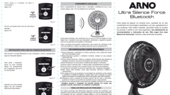 Ventilador com Bluetooth usa celular como controle remoto