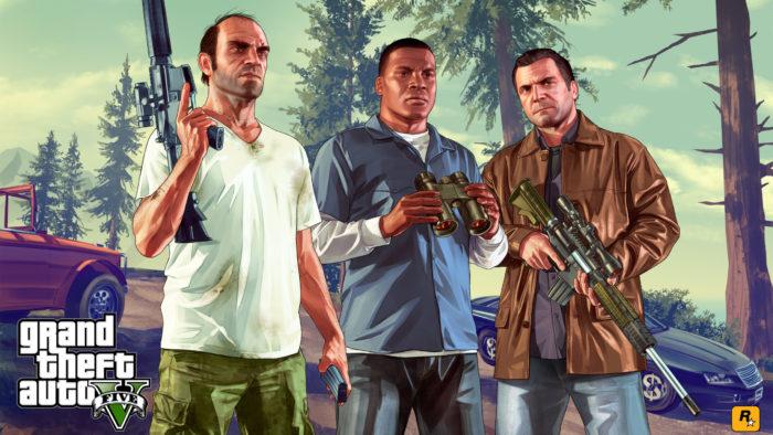 Alterne entre os personagens que você deseja controlar em GTA 5 (Imagem: Divulgação / Rockstar)