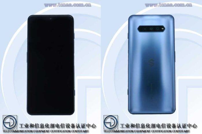 Possível Xiaomi Black Shark 4 (PSR-A0) (Imagem: Reprodução/TENAA)