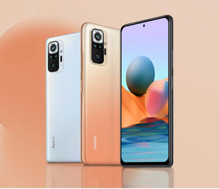 Redmi Note 10 Pro e Note 10 Pro Max (Imagem: Divulgação/Xiaomi)