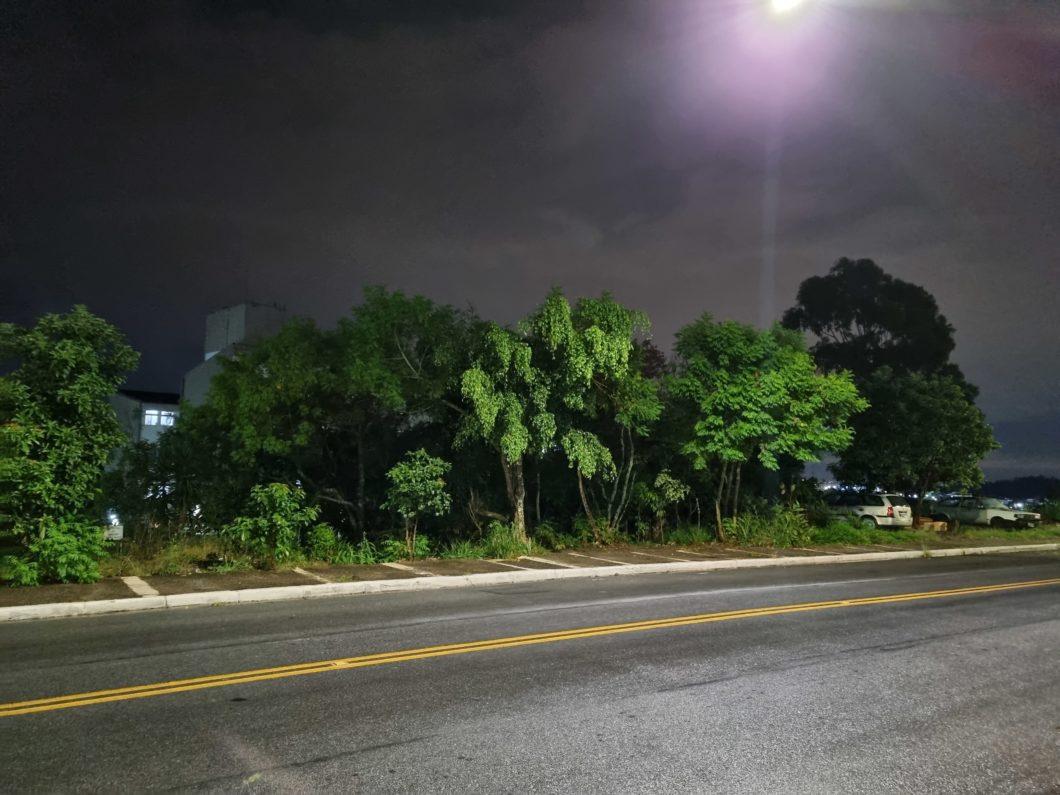 Grande angular no modo noturno (imagem: Emerson Alecrim/Tecnoblog)