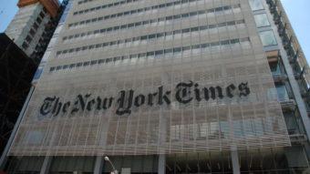 New York Times vende coluna jornalística como NFT por US$ 564 mil