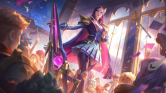 Cinco campeões de League of Legends recebem skins Academia de Batalha