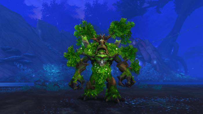 Montaria do Anciente Andarilho em World of Warcraft: Shadowlands (Imagem: Reprodução/Wowhead)