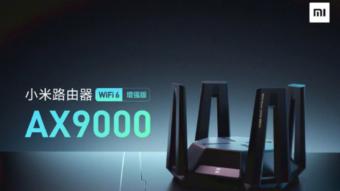 Xiaomi lança roteador gamer AX9000 com Wi-Fi 6