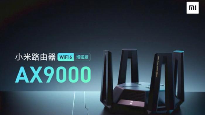 Xiaomi AX9000 é um roteador com suporte a Wi-Fi 6 (Imagem: Divulgação/Xiaomi)