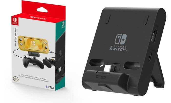 Dual USB PlayStand da HORI para Switch (Imagem: Divulgação/HORI)
