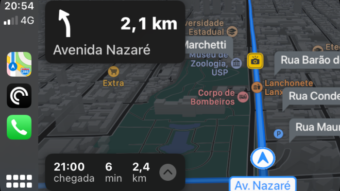 Apple Mapas começa a mostrar radares no Brasil