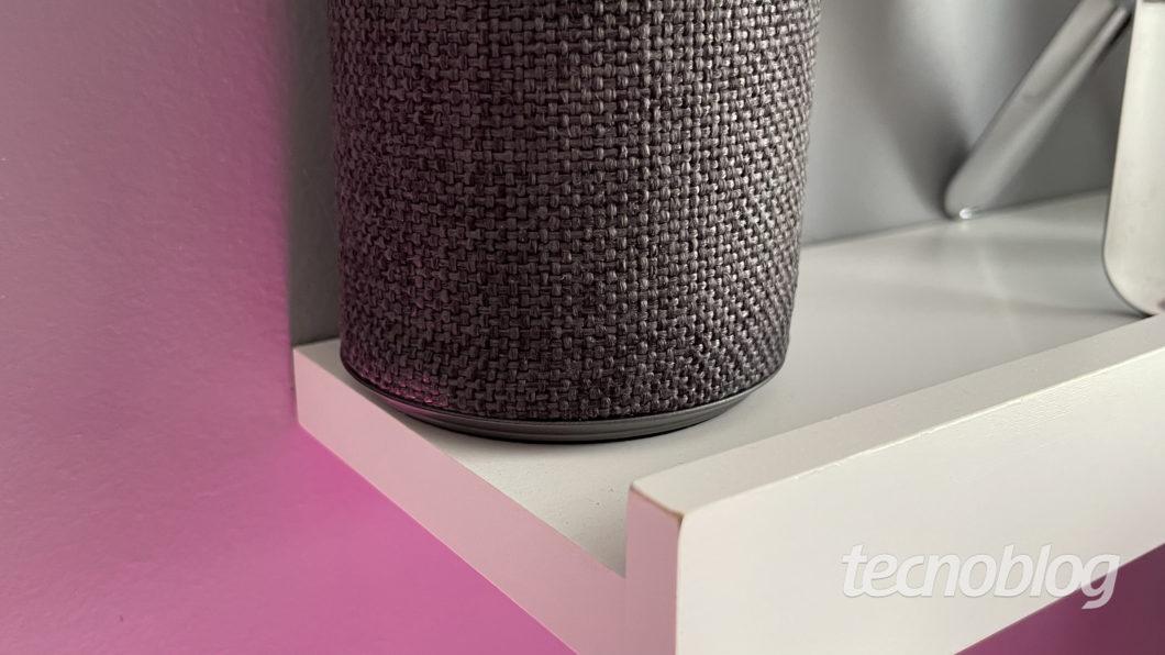 Caixa de som inteligente Pulse Smarty (Imagem: Darlan Helder/Tecnoblog)