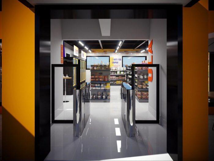 Loja do Carrefour Express sem atendentes (Imagem: divulgação/Carrefour)