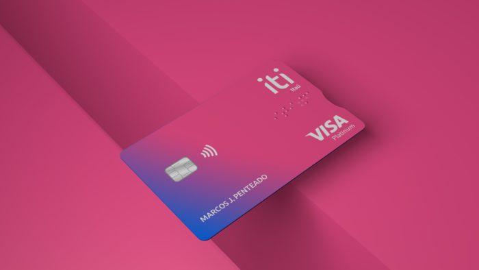 Cartão de crédito Iti, do Itaú (Imagem: divulgação/Itaú)