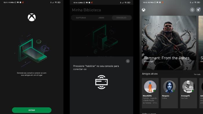 Como espelhar o Xbox One e Series X no celular (Imagem: Leandro Kovacs/Reprodução)