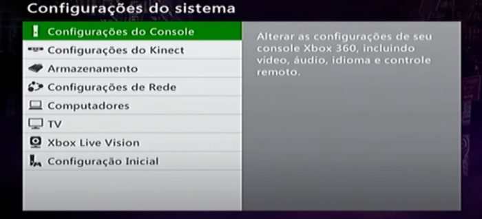 Como formatar Xbox 360