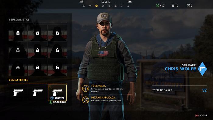 Como jogar Far Cry 5 (Imagem: Leandro Kovacs/Reprodução)
