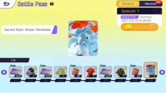 Pokémon Unite aparece com Passe de Batalha em vídeos vazados