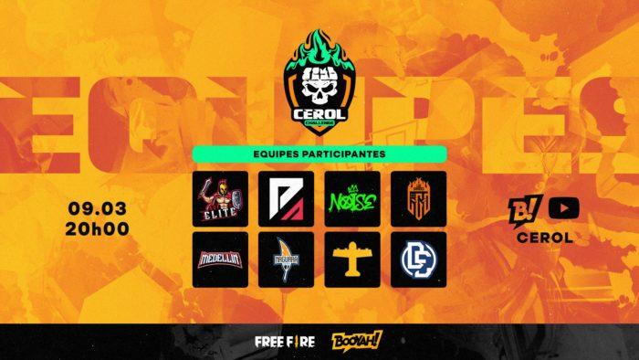 Cerol Challenge é um torneio de Free Fire exclusivo para emuladores (Imagem: Reprodução/Twitter Free Fire - Brasil)