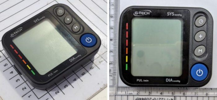 Medidor de pressão G-Tech GP480BT com Bluetooth (Imagem: Reprodução / Anatel)