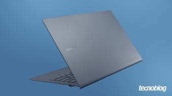 Notebook Samsung Galaxy Book S: finíssimo e com chip híbrido