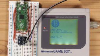Encontraram um jeito de minerar bitcoin com um Game Boy (mas é meio lento)