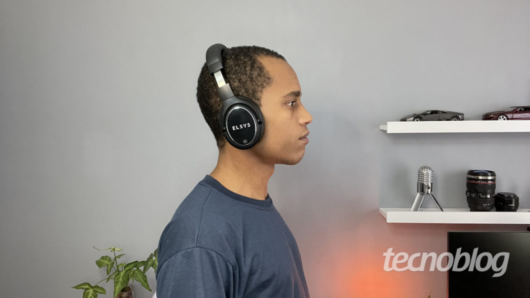 Elsys ANC Bluetooth Headphone (Image: Darlan Helder / Tecnoblog)