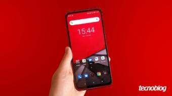 Lenovo Legion Phone Duel: luzes, som e potência
