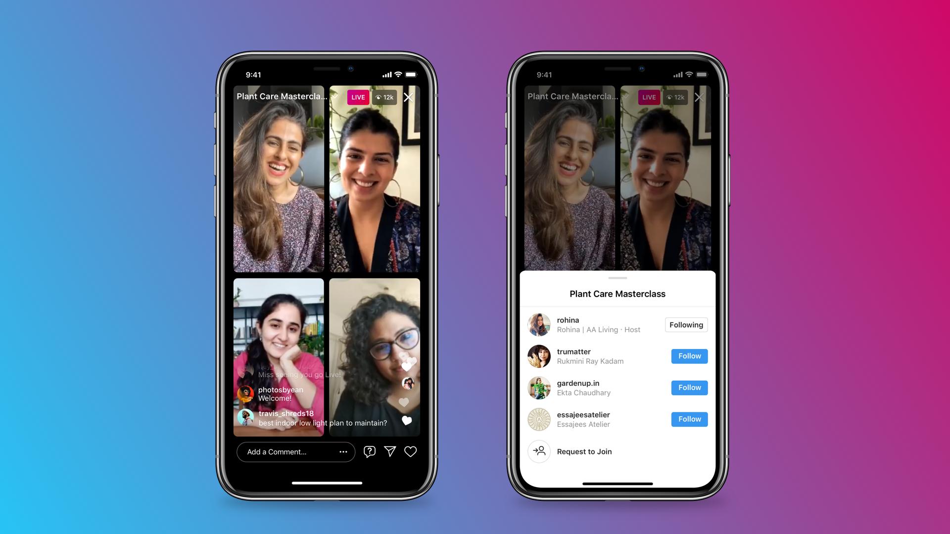Instagram lança Salas ao Vivo para lives com até 4 participantes   Aplicativos e Software   Tecnoblog