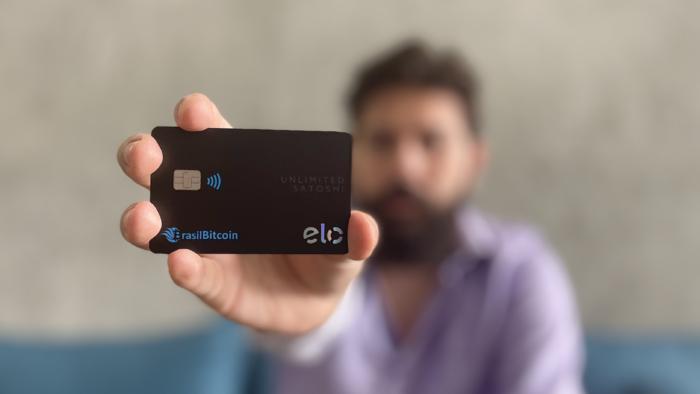 Brasil Bitcoin lança cartão Elo para pagamentos com criptomoedas (Imagem: Divulgação)