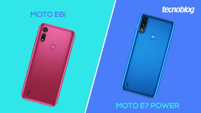 Comparativo: Moto E6i ou E7 Power? (Imagem: Vitor Pádua/Tecnoblog)