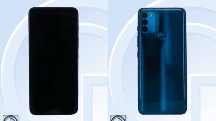 Motorola Moto G50 (Imagem: Reprodução/TENAA)