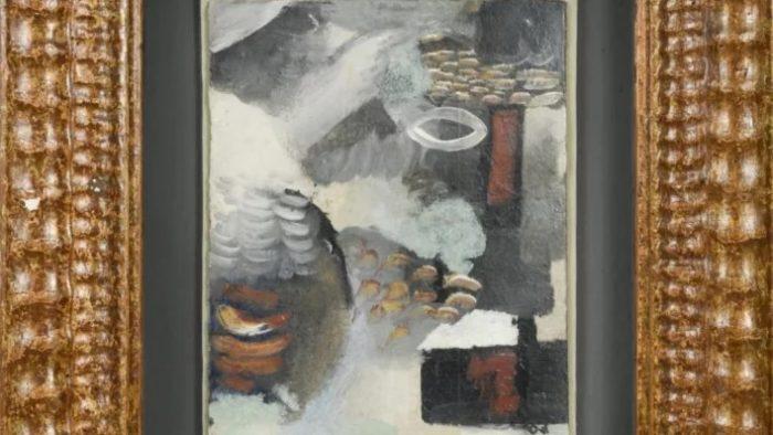 """""""Abstract Composition"""", de Wladimir Baranoff-Rossine (Imagem: Reprodução)"""