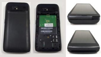 Positivo L200 é uma maquininha de cartão que parece celular