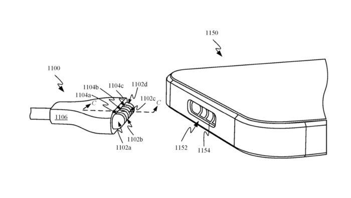 Patente de carregador Apple MagSafe (Imagem: Reprodução/USPTO)