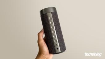 Caixa de som inteligente Pulse Smarty: Alexa portátil