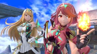 Pyra e Mythra chegam em Super Smash Bros. Ultimate por DLC