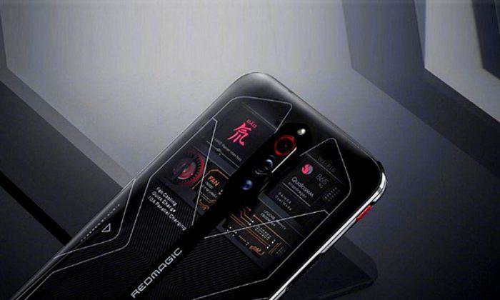 Suposto visual do Red Magic 6, celular gamer da Nubia (Imagem: Reprodução/Gizchina)