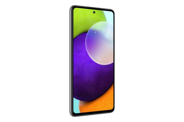 Tela do Galaxy A52 tem 6,5 polegadas (Imagem: Divulgação/Samsung)