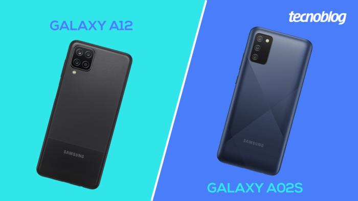 Galaxy A12 ou A02s