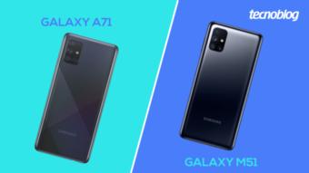 Comparativo: Samsung Galaxy A71 ou M51; qual comprar?