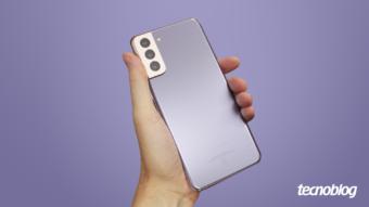 Samsung Galaxy S21+: um detalhe aqui, outro ali