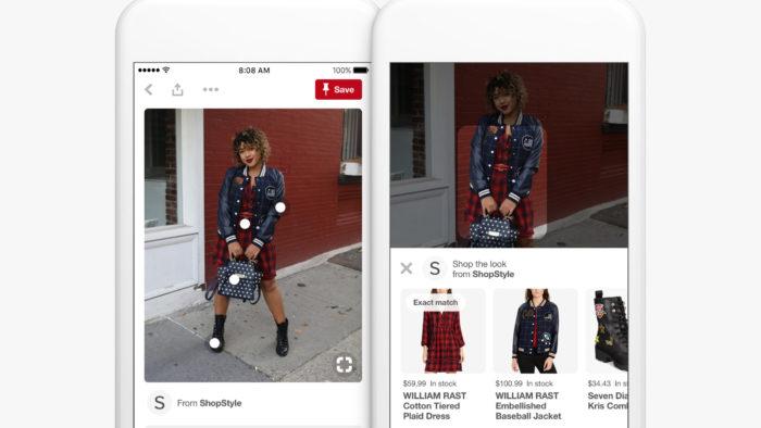 Para marcas e negócios, é possível criar conteúdo no Pinterest e direcionar para a compra (Imagem: Divulgação / Pinterest)